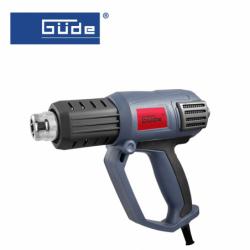 Hot air gun HLG 600-2000 LED, 2000W / GÜDE 58191 /