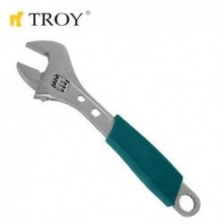 Adjustable Wrench  / TROY 21208 /