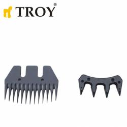 Резервен нож за машина за стригане на овце / Troy 19903-R2 /