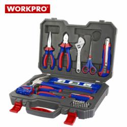 Комплект инструменти в куфар 28 части / Workpro W009014 /