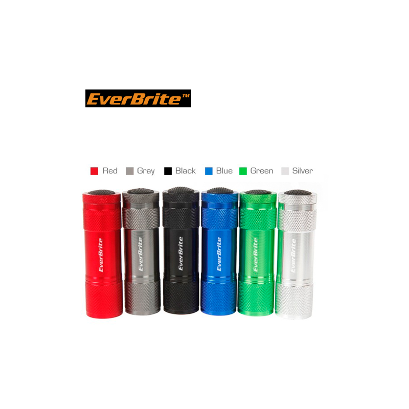 Aluminium Flashlights set with batteries 5pieces / EverBrite E000011 / EVERBRITE - 4