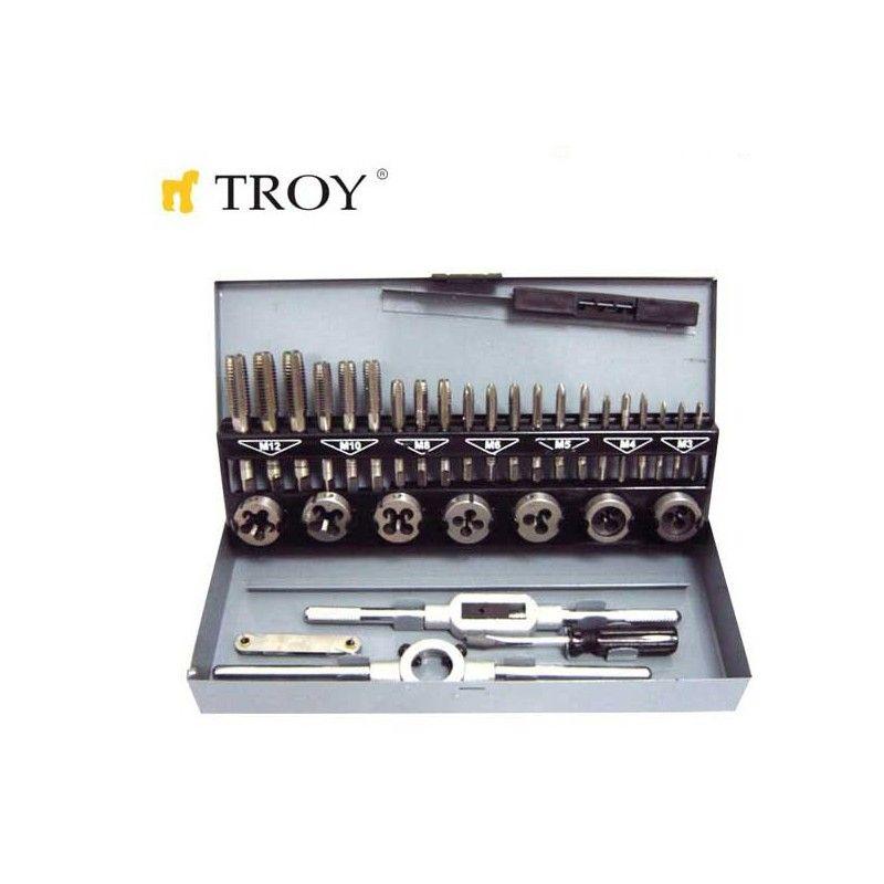 Комплект за нарязване на резби  / Troy 36000 /