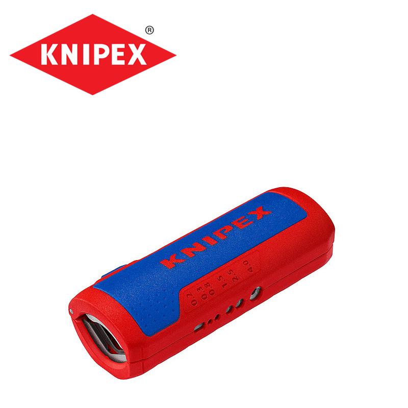 Инструмент за оголване на кабели / KNIPEX 902202SB /
