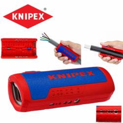 Инструмент за оголване на кабели / KNIPEX 902202SB / Ръчни инструменти