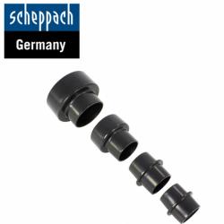 Suction nozzle set, 4-piece / Scheppach 75200703 /