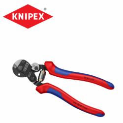Клещи за рязане на стоманени въжета и тел  / KNIPEX 9562160 /