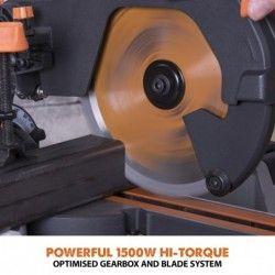 Потапящ циркуляр R210SMS+ 1500 W, 210 мм 8