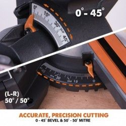 Потапящ циркуляр R210SMS+ 1500 W, 210 мм 10