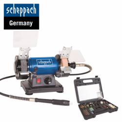 Шмиргел - полир HG34 120 W   Scheppach 5903106901