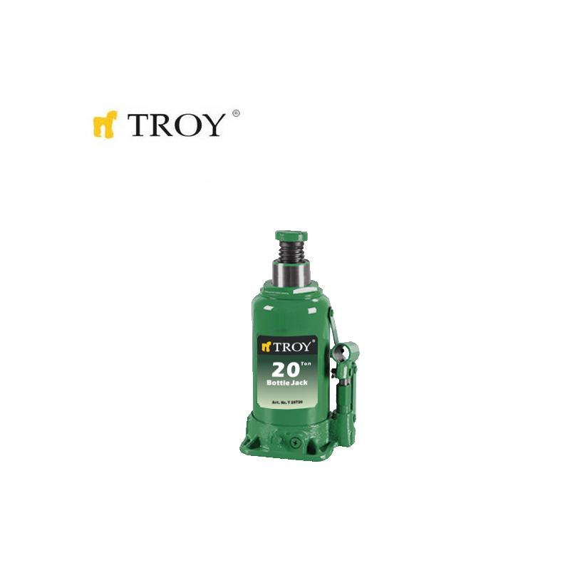 Хидравличен крик тип бутилка, капацитет 20 т / Troy 26720 /