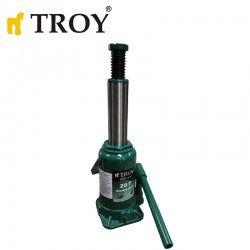 Хидравличен крик тип бутилка, капацитет 20 т / Troy 26720 / 2