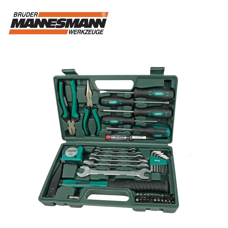 Комплект инструменти в куфарче 47 части / Mannesmann 29032 /