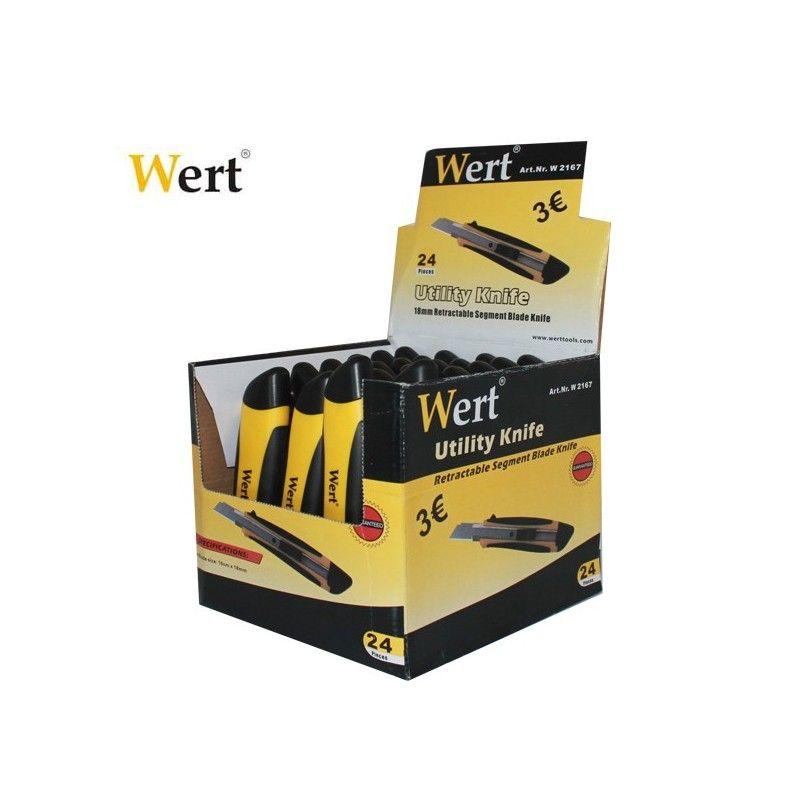 WERT 2167 Maket Bıçağı 100x18mm