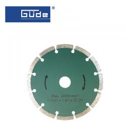 Диамантен диск за Фреза за канали MD 1700 Ø 150mm 2PCS 2