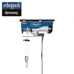 Electric rope hoist HRS 800 / Scheppach 5906904901 /