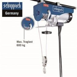 Electric rope hoist HRS 600 4
