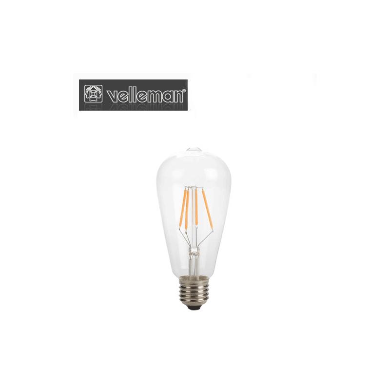 Светодиодна Крушка - ST64 - 4 W - E27