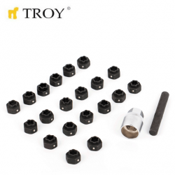 22pcs VAG Wheel Nuts Socket...