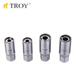 "Stud Extractor Kit 4 Pcs 1/2"" / Troy 26155 /"