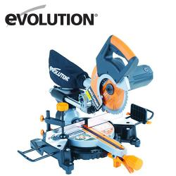 Комбиниран потапящ циркуляр за ъглово рязане Rage 3-S 210мм / EVOLUTION 030-0004a /