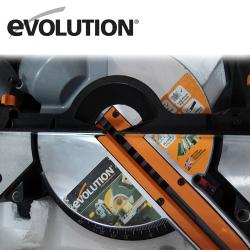 Комбиниран потапящ циркуляр за ъглово рязане Rage 3-S 210мм / EVOLUTION /