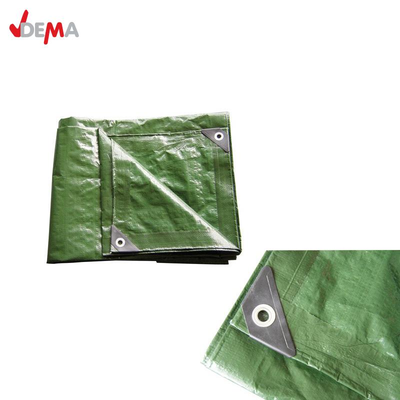 Водоустойчиво покривало, Универсален брезент 6x10m | зелено / DEMA 24709 /