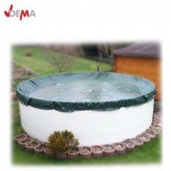Водоустойчиво покривало, Универсален брезент 6x10m | зелено / DEMA 24709 / 3