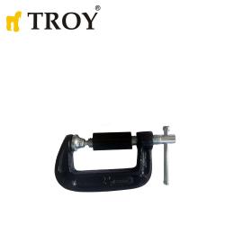 """Винтова C-образна стяга 2"""" / Troy 25062 /"""