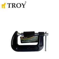 "3"" Regular C-Clamp / Troy 25063 /"