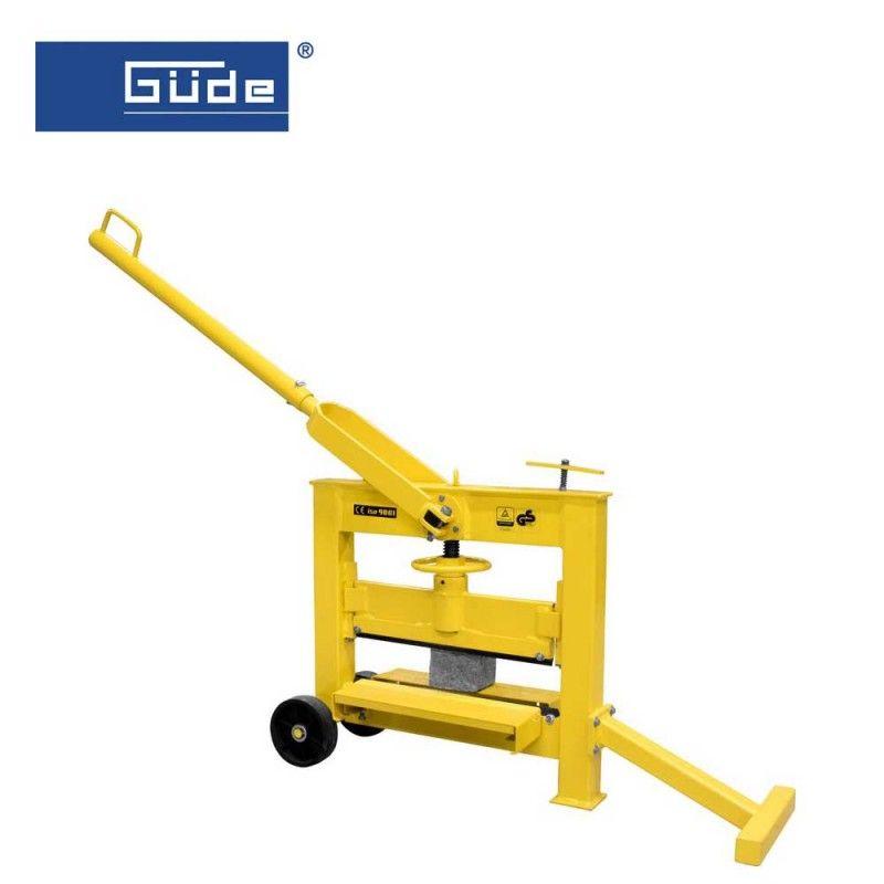 Професионална гилотина за оформяне на каменни плочки GSK 140/420 / GÜDE 55381 /