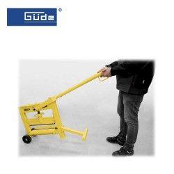 Професионална гилотина за оформяне на каменни плочки GSK 140/420 / GÜDE 55381 / 4