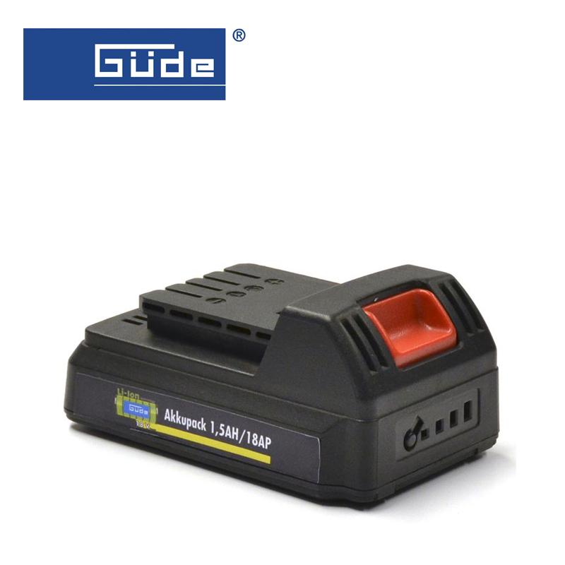 Акумулаторна Батерия 1.5AH / 18 AP / GUDE 95790 /