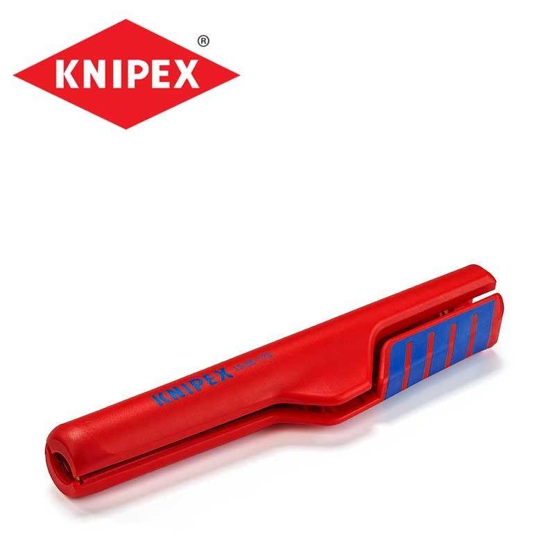 Инструмент за оголване на кабели / KNIPEX 1680175 SB /