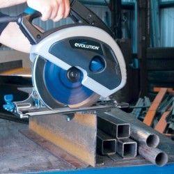 Ръчен циркуляр за рязане на стомана EVOSAW 180HD / EVOLUTION 031-0014A / 1