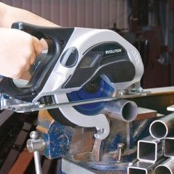 Ръчен циркуляр за рязане на стомана EVOSAW 180HD / EVOLUTION 031-0014A / 3