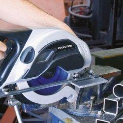 Ръчен циркуляр за рязане на стомана EVOSAW 180HD / EVOLUTION 031-0014A / 4