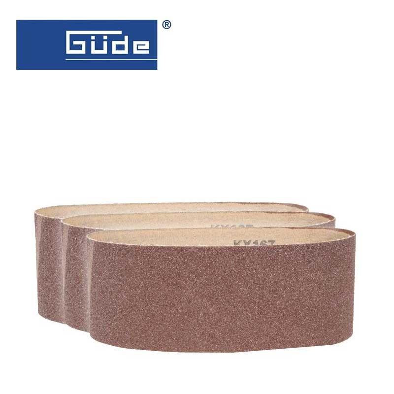 100х610мм Шлайфащи ленти K150 / GUDE 38368 / 3бр