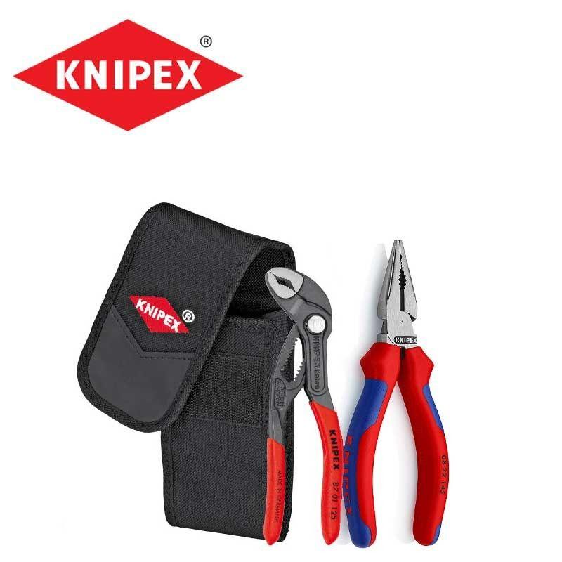 Мини клещи в калъфче комплект 2 бр. / Knipex 002072 V06 /