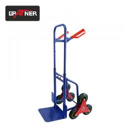 Ръчна Транспортна количка за стъпала HR2086R, макс. 200 кг / GRAFNER 16067 /