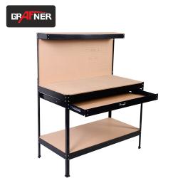 Работна маса с чекмедже и стена за инструменти / Grafner 19552 /