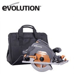 Multipurpose Circular Saw with track R185CCSX+ EU / EVOLUTION 027-0003A /