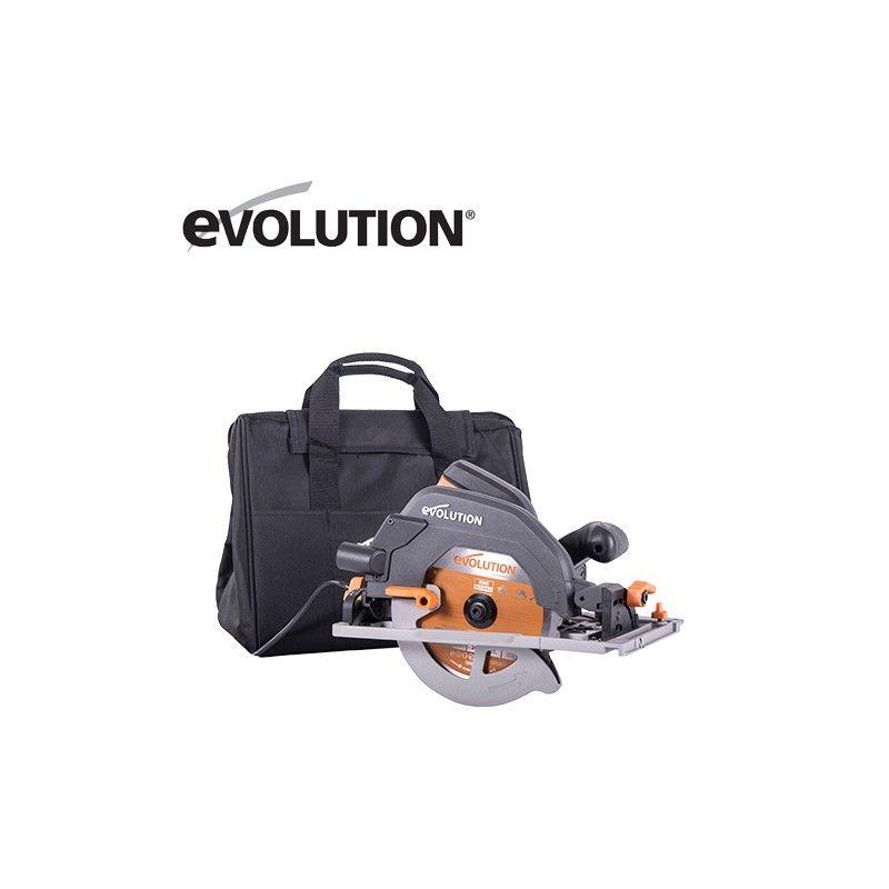 Multipurpose Circular Saw with track R185CCSX+ EU / EVOLUTION 027-0003A /