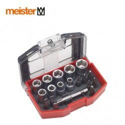 Комплет накрайници и вложки, 19 части / Meister  3384300 /