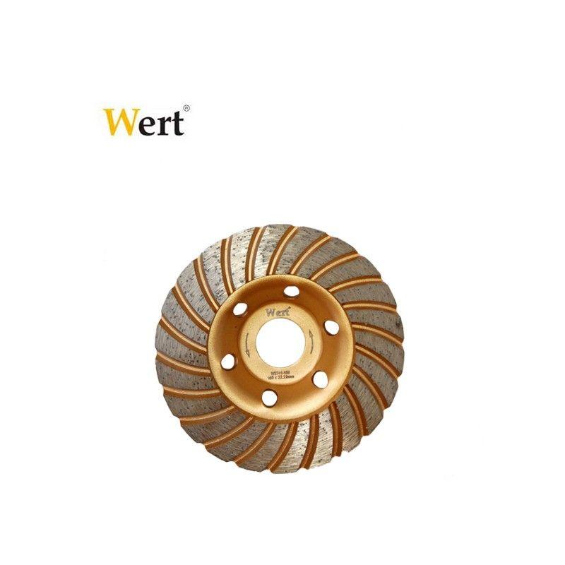 Диамантен диск за шлайфане бетон 125 мм, Turbo