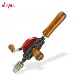 Ръчна дрелка HB 6 с дървени ръкохвадки / DEMA 21566 /