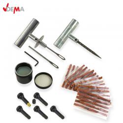 Сервизен комплект за ремонт на гуми, 40 части / DEMA 18058 /