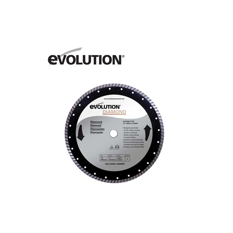 Evolution RAGE 355 mm Диамантен диск / EVOLUTION RAGEBLADE355DIAMOND /