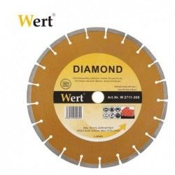 Segmented Diamond Saw Blade 150mm / Wert 2711-150 /