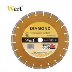 Сегментиран диамантен диск за гранит и мрамор 150mm / Wert 2711-150 /