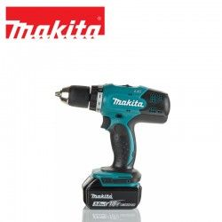Drill Driver 2 x 3.0 Ah Li-ion and Charger / MAKITA DDF453RFE /